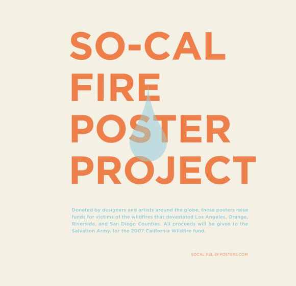 SO-CAL FIRE POSTER PROJECT